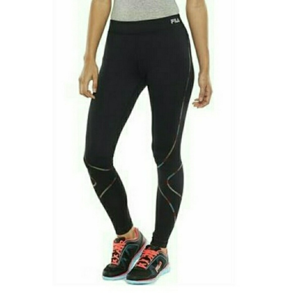 ab0379837fbad2 Fila Pants   Sport Contour Leggings Running   Poshmark